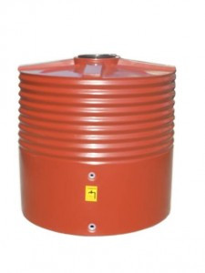 1400L Round Squat Water Tank buy now from your local supplier of poly rainwater tanks in Sydney and across NSW with delivery available.