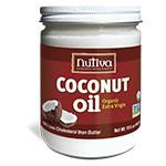 Nutiva Organic Virgin Coconut Oil 15 oz.