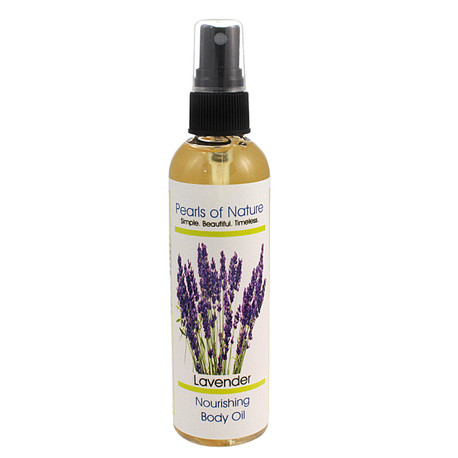 Natural Body Oil with Organic Plant & Bulgarian Lavender Essential Oils