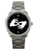 Watches Circle with Interpreter Logo (Silver)
