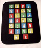 A to Z Mouse Pad (Black)
