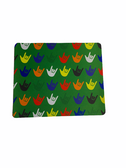 Sign Language Mouse Pad with I LOVE YOU Asst Colors (Green)