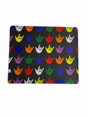 Sign Language Mouse Pad with I LOVE YOU Asst Colors (Black)