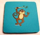 Coaster Pad Monkey (Turquiorse)