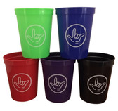 Tumble Cup 16 oz with I LOVE YOU Hand ($2.50 per each)