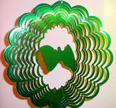 "Suncatchers Wind Illusions FRIEND Large 12"" (Green)"