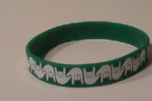 I LOVE YOU Awareness Bracelet Silicone (Green)