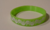 I LOVE YOU Awareness Bracelet Silicone (Lime)