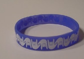 I LOVE YOU Awareness Bracelet Silicone (Royal)