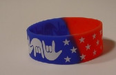 I LOVE YOU Awareness Bracelet Silicone (USA) WIDE