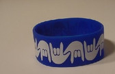 I LOVE YOU Awareness Bracelet Silicone (ROYAL) WIDE