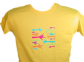 """Neon Sign Hands, """" I LOVE YOU """" T Shirt ( YOUTH SIZE )"""
