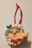 "Mrs. Claus  Christmas Ornaments Sign hand "" I LOVE YOU ""(very light weight ),"