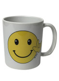 "MUG CERAMIC SIGN LANGUAGE "" I LOVE YOU"" (SMILEY)"