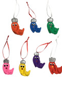 "Christmas Bulb Light Sign Language "" I LOVE YOU"" Ornaments very Light weight  (Choose color)"