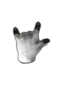 "Sign Language ""I LOVE YOU"" Hand SIGN COOKIE CUTTER 2 inches (NEW)"