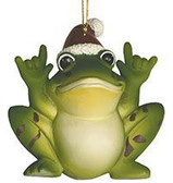 Frog Sign Language I LOVE YOU Ornaments
