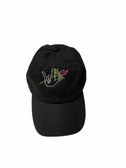 ILY HAND & ROSE (BLACK) CAP (PINK ROSE)