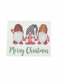 "CHRISTMAS GREETING CARD SIGN LANGUAGE I LOVE YOU HAND "" GNOMES """