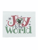 "Christmas Greeting Card  Sign Language I LOVE YOU HAND "" JOY TO THE WORLD """