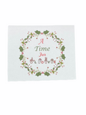 "Christmas Greeting Card  Sign Language I LOVE YOU HAND "" A TIME FOR LOVE """