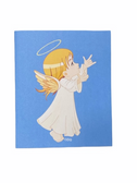 "SIGN LANGUAGE "" I LOVE YOU "" HAND ANGEL ( YELLOW HAIR/ FLESH )  GREETING CARDS"