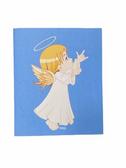 "SIGN LANGUAGE "" I LOVE YOU "" HAND ANGEL ( YELLOW HAIR/ FLESH )  GREETING CARDS"