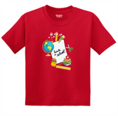 SIGN LANGUAGE T SHIRT ( BACK TO SCHOOL ) (ADULT SIZE)
