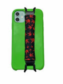 "Sign Language "" I LOVE YOU"" Hands  iPhone Strap Holder ( Black & Red Hands)"