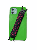 "Sign Language "" I LOVE YOU"" Hands  iPhone Strap Holder ( Black & Pink Hands)"