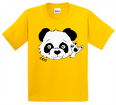 SIGN LANGUAGE T SHIRT ( I LOVE YOU) PANDA (YOUTH SIZE)