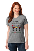 """SIGN LANGUAGE """" I LOVE YOU"""" HAND WITH WHITE CHRISTMAS WITH WINE (ADULT SIZE)"""
