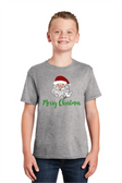 """SIGN LANGUAGE """" I LOVE YOU"""" HAND WITH SANTA FACE (YOUTH SIZE)"""