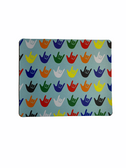 SIGN LANGUAGE MOUSE PAD WITH I LOVE YOU ASST COLORS (LIGHT BLUE)