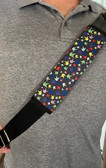 """Sign Language """" I LOVE YOU"""" COLORFUL HAND SEAT BELT COVER"""