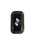 """SIGN LANGUAGE HAND """" I LOVE YOU"""" FOLDABLE MOBILE HOLDER RING RETRACTABLE TURN 360 ( INTERPRETER WITH BLACK STAND)"""