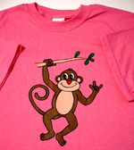 "Monkey Sign hand "" I LOVE YOU""  (Youth Size )"