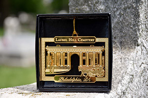 Laurel Hill Cemetery Gold Ornament