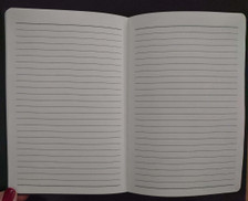 Lined pages provide space for you to fill with your musings,