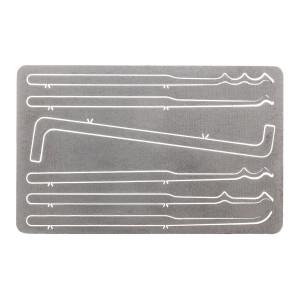 Vigilant Gear® Titanium Entry Card 6-Piece