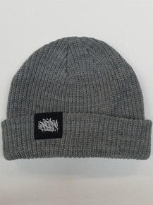KINGPIN CABLE BEANIE GREY / BLACK