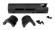 2250 AR15 10.375'' Ext. Mid Length with Cutout, 9.4 oz with Hardware, Apex GatorGrip Handguard