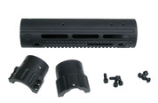 "2550 308 DPMS 9.18"" Mid Length, 8.2 oz with Hardware, Apex GatorGrip Handguard"