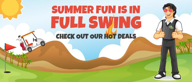 Hot Deals at Mr Topes Golf