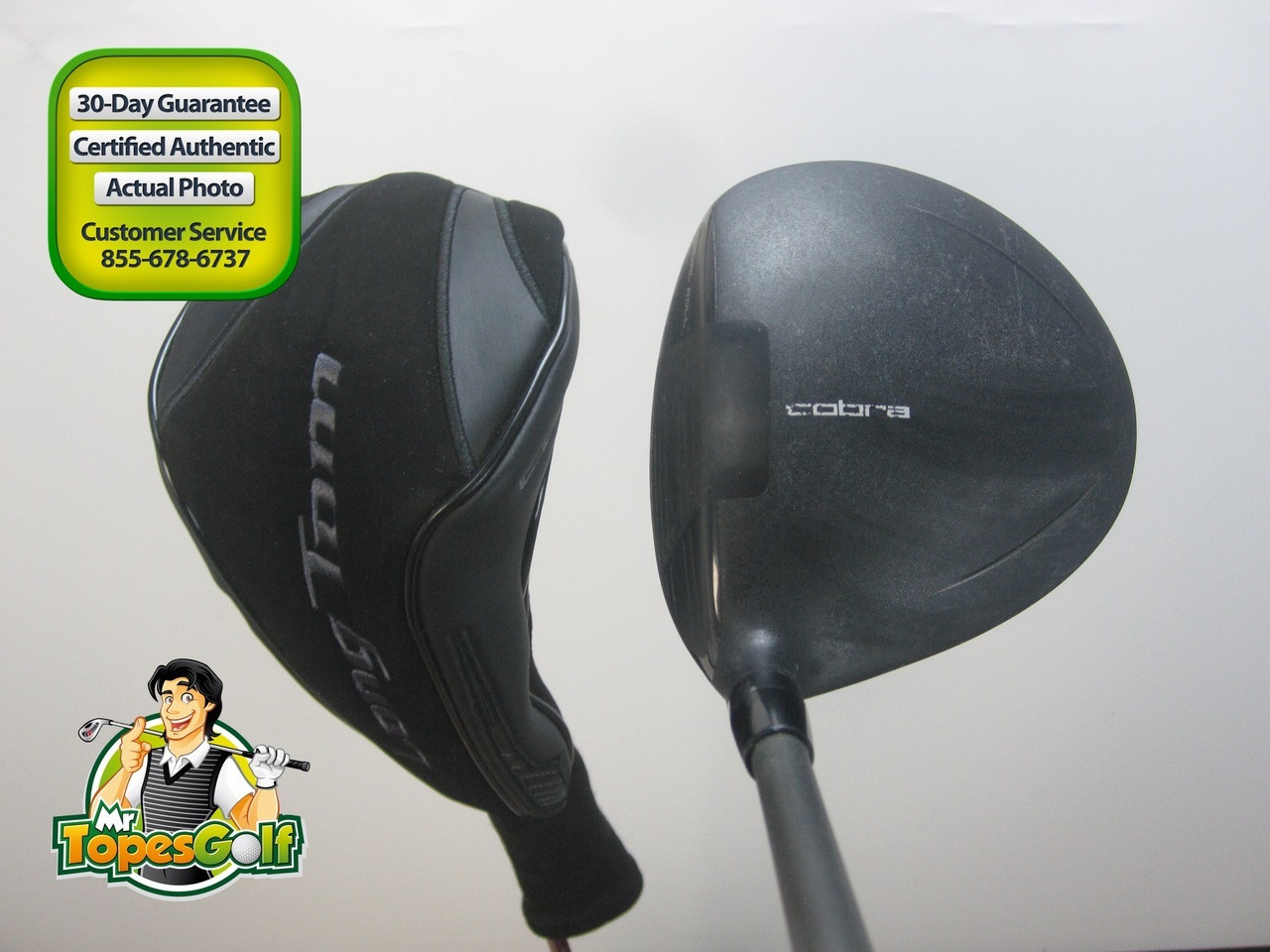 Cobra Long Tom 2 Wood 12 5 Deg Grafalloy Blackbird Lite
