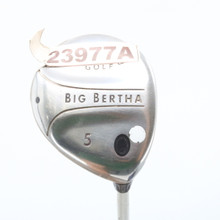 Callaway Big Bertha 5 Fairway Wood 19 degree Graphite Gems Ladies 23977A