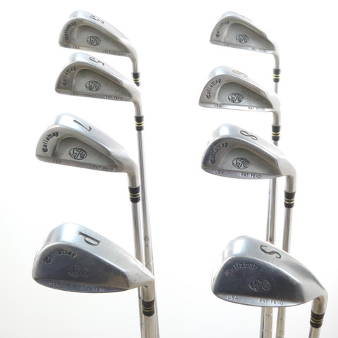 Callaway S2h2 Iron Set Steel Shaft True Temper Memphis 10 Uniflex