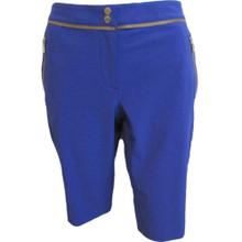 Womens EP Sport Obsidian Golf Shorts Size 4 Topaz Blue 4208SGB LW-027