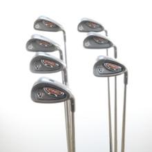 Ping G10/i10 Combo Iron Set 4-W Silver Dot Steel Shaft Stiff Flex 36629G