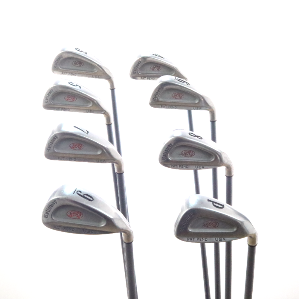 Callaway S2h2 Iron Set 3 P Graphite Rch 90 Firm Stiff Flex Right